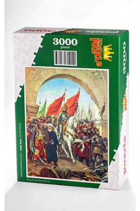 King Of Puzzle Fatih'in Istanbul'u Fethi Ahşap Puzzle 3000 Parça 0