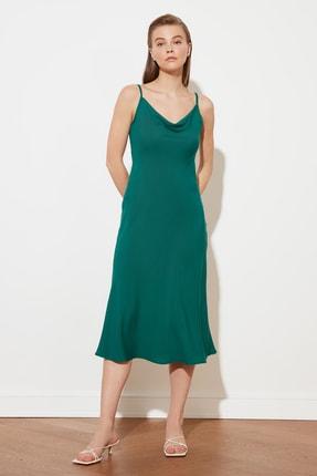 TRENDYOLMİLLA Yeşil Askılı Elbise TWOSS19EL0172 1