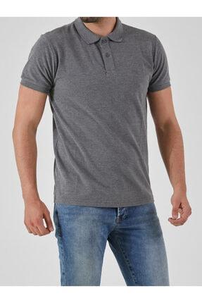 Ltb Erkek  Antrasıt Polo Yaka T-Shirt 012208450860890000 4