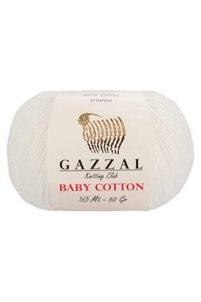 Gazzal Baby Cotton 3410 Pamuklu Amigurumi Ipi 0