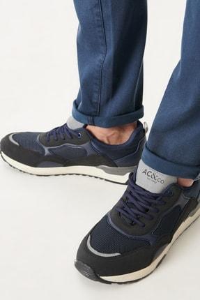 Altınyıldız Classics Erkek Lacivert Casual Spor Sneaker Ayakkabı 1