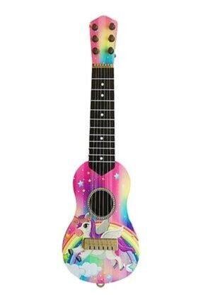 aslan oyuncak Pembe Oyuncak 6 Telli Kartella Ispanyol Gitar 1