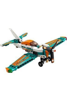 LEGO ® Technic Yarış Uçağı 42117 - Çocuklar için Oyuncak Uçak Yapım Seti 154 Parça 2