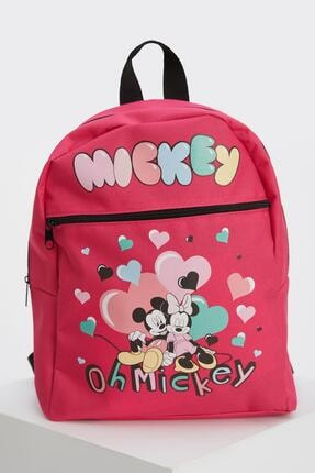Defacto Kız Çocuk Minnie Mouse Lisanslı Sırt Çantası 0