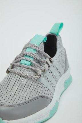 Muggo Unisex Gri Sneaker Ayakkabı Mgforce01 4