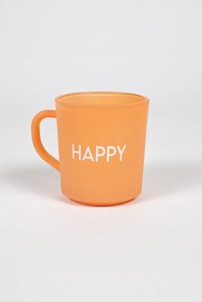 Rakle Somon Motto Happy Kupa Bardak 0