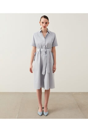İpekyol Piliseli Gömlek Elbise 2