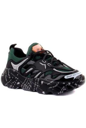 Guja Kadın Yeşil Sneakers 0
