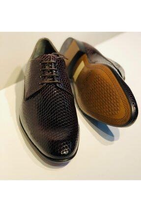 Erkek Bordo Rugan Deri Ayakkabı 525639633