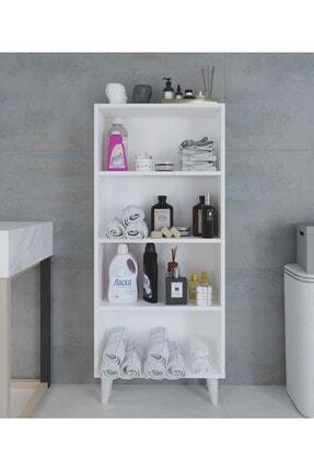 intarz Artim Çok Amaçlı Mutfak Banyo Kitaplık Dolabı Yükseklik 137 Genişlik 59 Derinlik 22 3