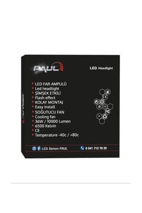 PAULLED H1 Mini Pro Canbus Led Xenon Far Canbus Şimşek Etkili 1 Yıl Garantili 3