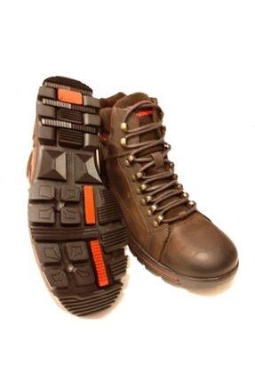 Dunlop Hakiki Deri Kahverengi Erkek Bot 2