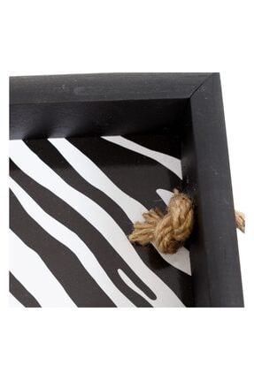 Mudo Concept Zebra Halatlı Tepsi 39x20x5 Cm 1