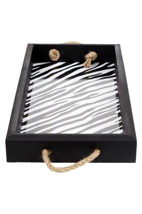 Mudo Concept Zebra Halatlı Tepsi 39x20x5 Cm 4