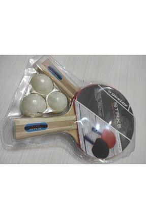 Dunlop Strıke Masa Tenis Raketi Seti (2 Raket + Top ) 1