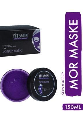 fitamin Soyulabilir Mor Maske Collagen Q10 Karamürver 150ml 3
