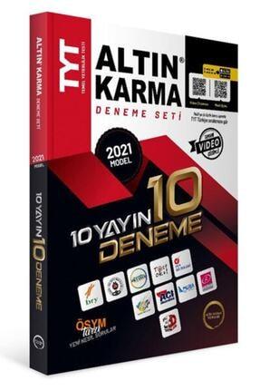 Altın Karma Yayınları Altın Karma Yks Tyt 10 Yayın 10 Deneme 0