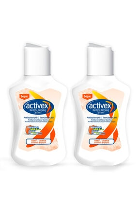Activex Antibakteriyel El Temizleme Jeli Aktif 2x100ml 0
