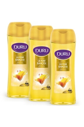 Duru Perfume Lilyum Bahçesi Duş Jeli 3x450ml 0