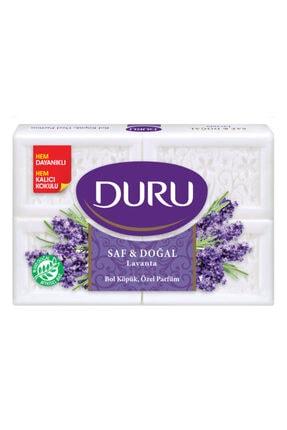 Duru Saf & Doğal Lavanta 4 Adet Beyaz Kalıp Sabun 600 gr 0