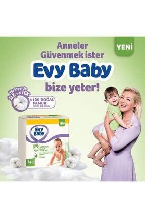 Evy Baby Bebek Bezi 3 Beden Midi 136 Adet Ve 4 Paket Islak Havlu 4