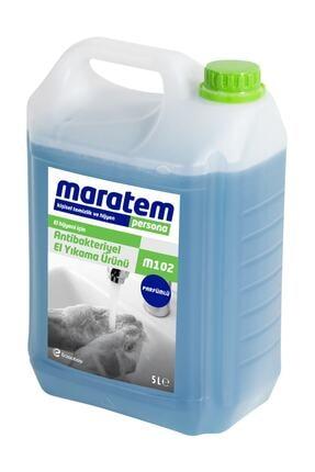 Maratem M102 Antibakteriyel Sıvı El Yıkama Sabunu 5 Lt 0