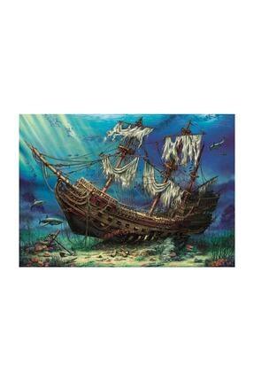 Anatolian Puzzle Batık Gemi, Shipwreck Sea, 1500 Parça Puzzle 0