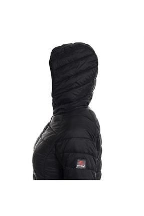 Cresta Kadın Siyah Kapüşonlu Şişme Mont 3