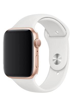 Fibaks Apple Watch 42mm A+ Yüksek Kalite Spor Klasik Silikon Kordon 4