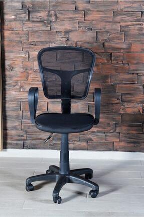 SEPETTEAL Siyah Fileli Bilgisayar Ofis Çalışma Sandalyesi Koltuğu 1