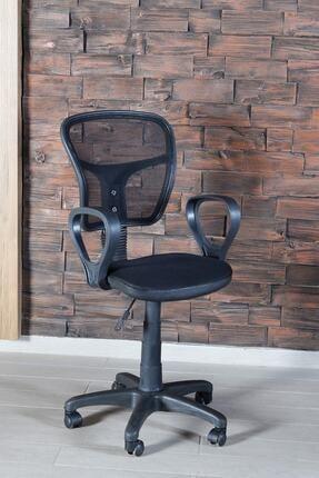 SEPETTEAL Siyah Fileli Bilgisayar Ofis Çalışma Sandalyesi Koltuğu 2