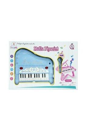 Birlik Oyuncak Mutlu Piyanist Mikrofonlu Piyano 1