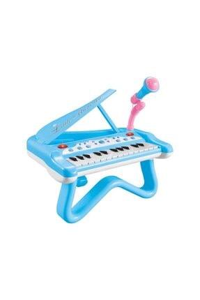 Birlik Oyuncak Mutlu Piyanist Mikrofonlu Piyano 2