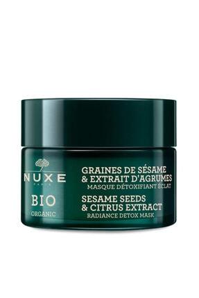 Nuxe Bio Organic Aydınlatıcı Detoks Maske 50 ml 0