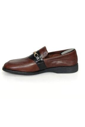 Oğuzhan Ayakkabı Erkek Kahverengi Eva Taban El Yapımı Doğal Yumuşak Deri Ayakkabı 2
