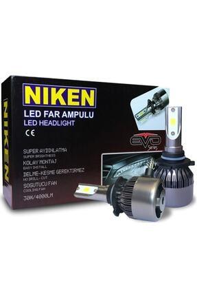 Niken H15 Led Xenon Evo Seri Yeni Teknoloji 4000 Lümen Şimşek Etkili 6000k Beyaz 0