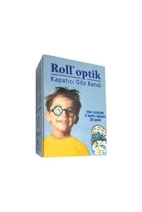 Roll Optik Kapatıcı Göz Bandı 20 Adet 0