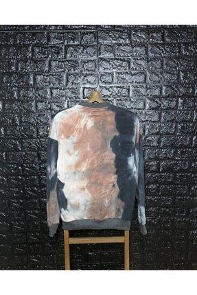 Saw Unisex Füme 'no Is Beyond Me' Baskılı Sweatshirt 1