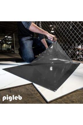 pigleb Yapışkanlı Paspas - Gri 150 Yaprak - 5 Plaka 0