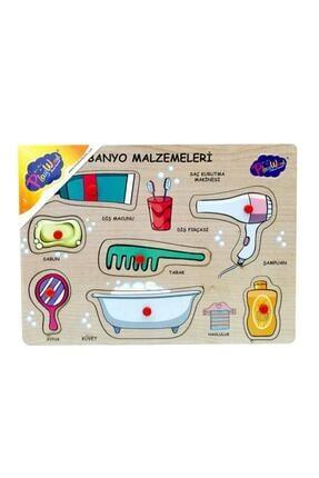 ONYIL Ahşap Tutmalı Banyo Malzemeleri 0