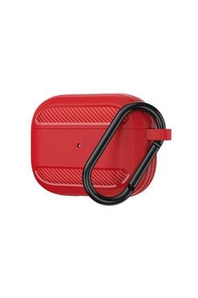 Wiwu Apc005 Airpods Pro Silikon Kılıf Kırmızı 31510