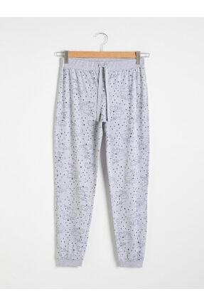LC Waikiki Kadın Gri Melanj Pijama Altı 0