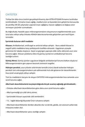 Chitotex Chıtotex Alkolsüz Kokulu El Dezenfektanı 5lt. 2