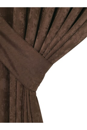 Belnido Home Açık Kahve New Soft Fon Perde 130 X 250 1