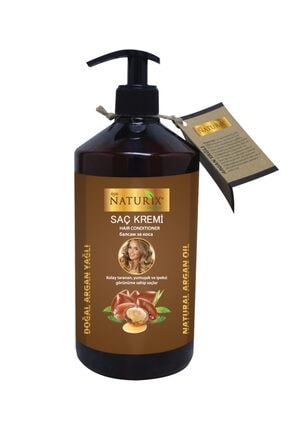 Naturix Tuzsuz Şampuan 2'li Doğal Argan Yağlı Şampuan 600 ml 500 ml Argan Yağlı Saç Kremi 2