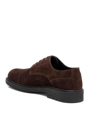 Tergan Kahverengi Süet Deri Erkek Ayakkabı 55016b85 1