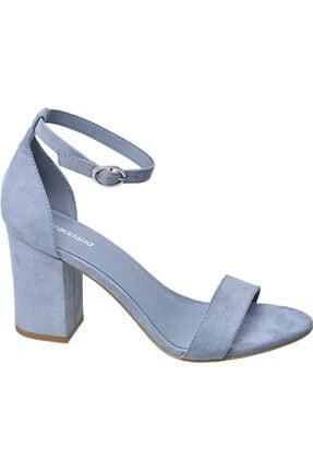 Kadın Mavi Topuklu Ayakkabı 1174046
