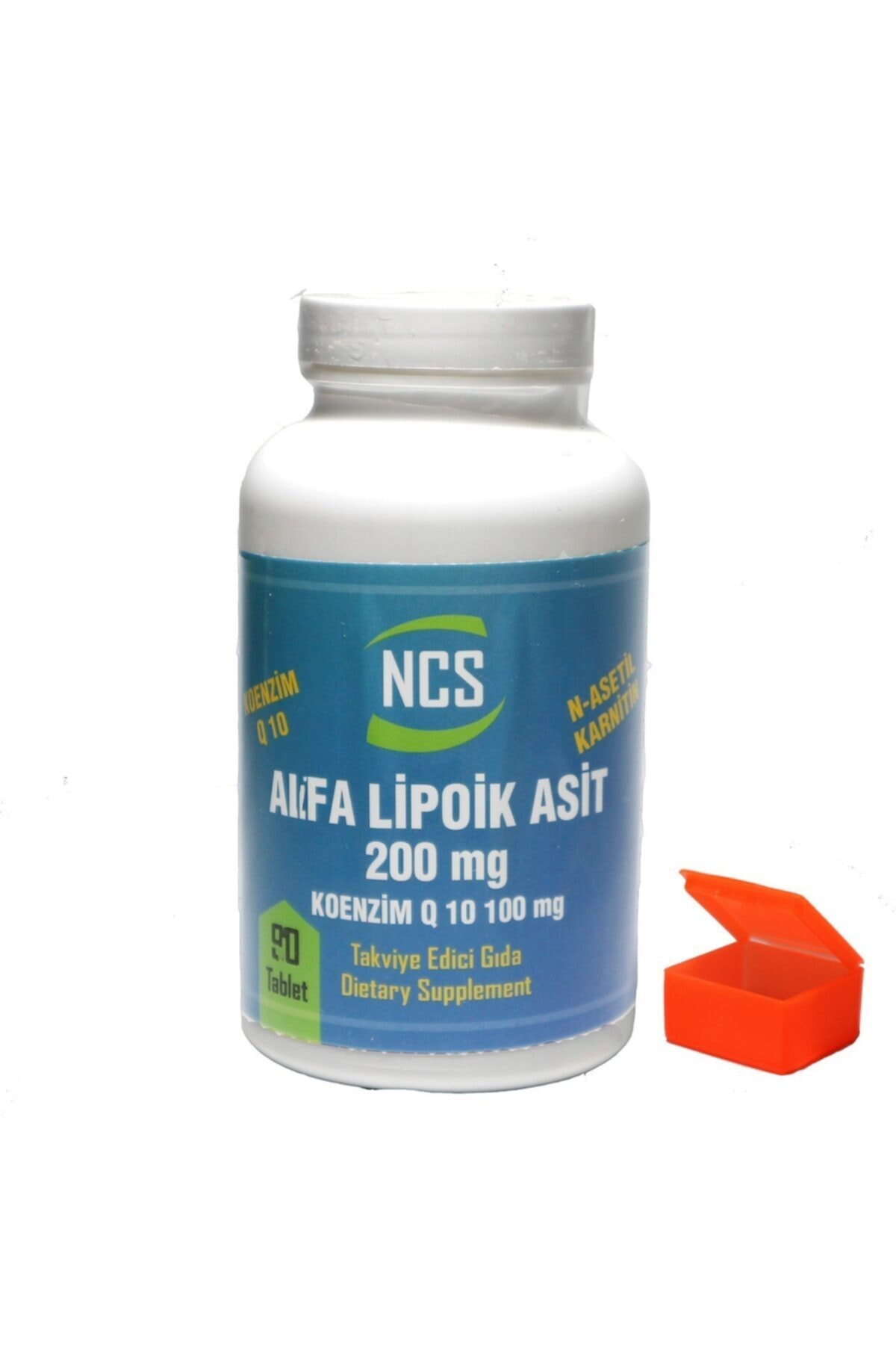 Coenzyme Q-10 100 Mg Alfa Lipoik Asit L-karnitin 90 Tablets