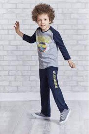 تصویر از Fenerbahçe Lisanslı Taraftar Erkek Çocuk Pijama Takımı L9212