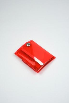 Badger Collection Katlanır Cüzdan - Unisex Kartlanır Kırmızı 3